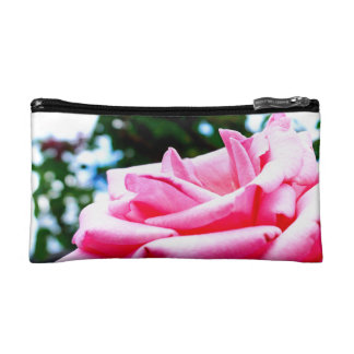 Mabel's Pink Rose Makeup Bag