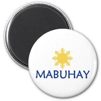 Mabuhay 2 Inch Round Magnet