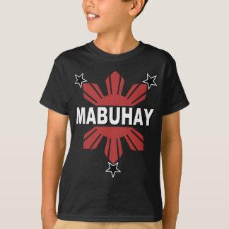 Mabuhay Filipino Sun and Star T-Shirt
