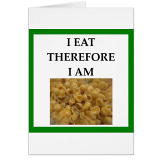 mac and cheese card