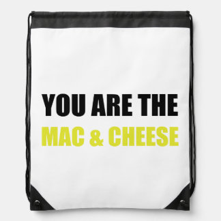 Mac And Cheese Cinch Bag
