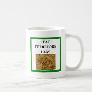 mac and cheese coffee mug