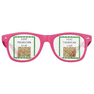 mac and cheese retro sunglasses