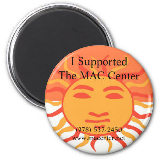 MAC Center Magnet