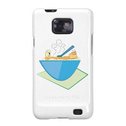 Mac & Cheese Galaxy S2 Case