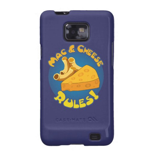 Mac & Cheese Rules Samsung Galaxy SII Cases