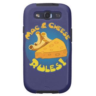 Mac & Cheese Rules Samsung Galaxy S3 Cases