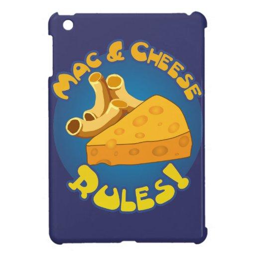 Mac & Cheese Rules iPad Mini Cases