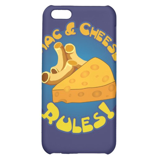 Mac & Cheese Rules Speck Case iPhone 5C Cases