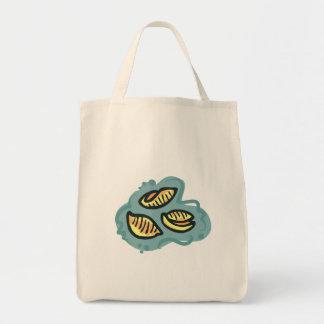 mac shells  n cheese grocery tote bag