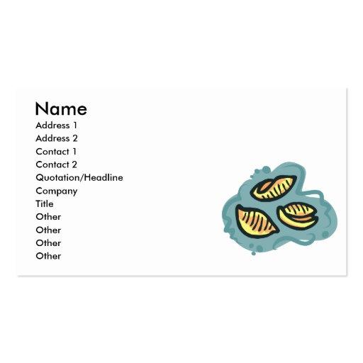 mac shells  n cheese business card templates