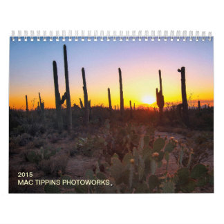 Mac Tippins Photoworks 2015 Calendar