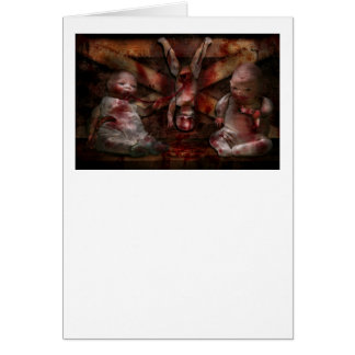 Macabre - Dolls - Having a friend for dinner Card