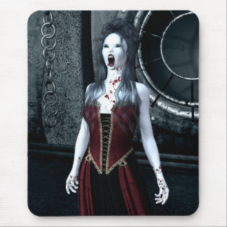 Macabre Thirst Vampire Mousepad