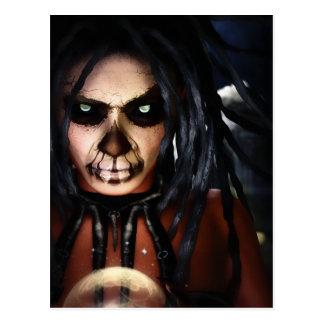 Macabre Voodoo Postcard