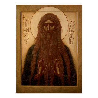Macarius of Egypt Poster