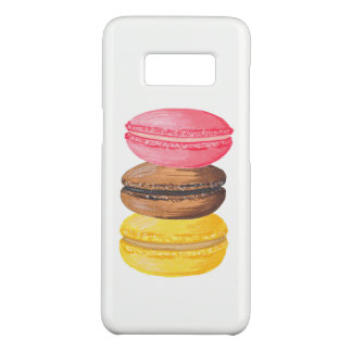 Macaron Illustration Sweets Watercolor Macaroons Case-Mate Samsung Galaxy S8 Case