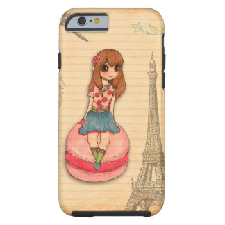 Macaron in Paris Tough iPhone 6 Case