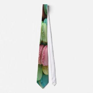 Macaron Macarons tie necktie novelty dessert food