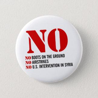 Macaron Rond 5 Cm U.S. Intervention en Syrie