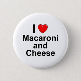 Macaroni and Cheese 2 Inch Round Button