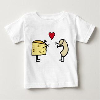 Macaroni and cheese baby shirts