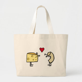 Macaroni and Cheese Jumbo Tote Bag