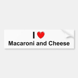 Macaroni and Cheese Bumper Sticker