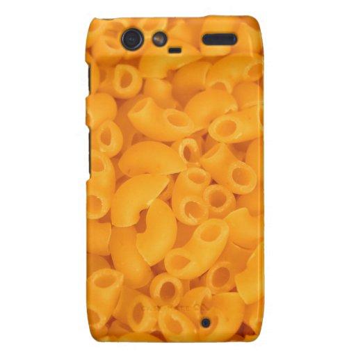 Macaroni And Cheese Motorola Droid RAZR Cases