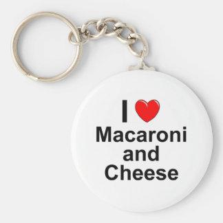 Macaroni and Cheese Keychain