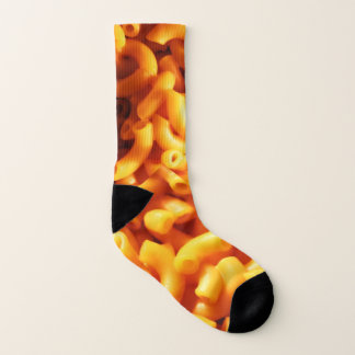 Macaroni and Cheese Socks 1