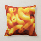 Macaroni and Cheese Throw Pillow