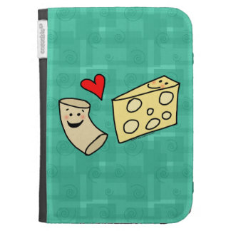 Macaroni Loves Cheese Kindle Keyboard Cases