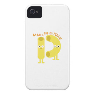 macaroni_mac and cheese please iPhone 4 case