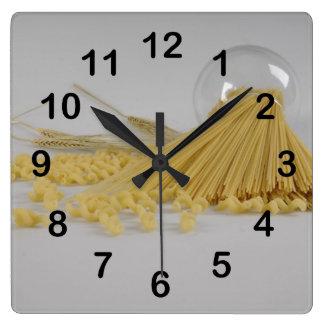 Macaroni Square Wall Clock