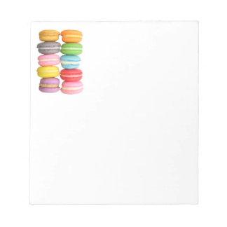 """Macarons 5.5"""" x 6"""" Notepad"""