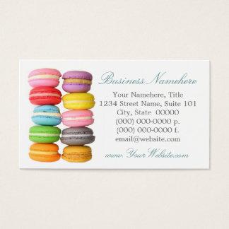 Macarons Business Cards