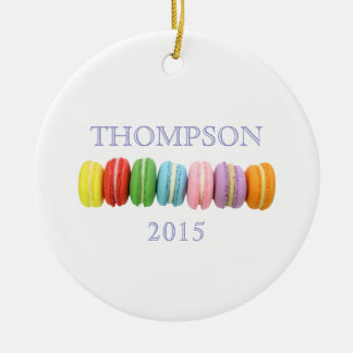 Macarons Custom Ornament