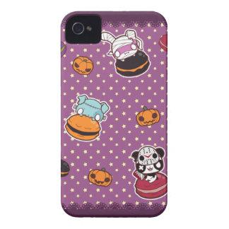 Macarons de Halloween Étuis iPhone 4