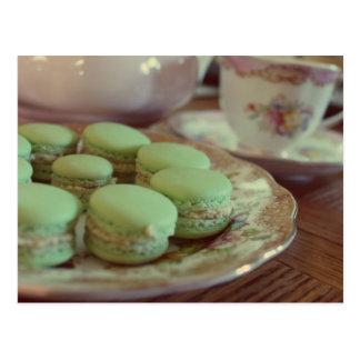 Macarons for Afternoon Tea Postcard