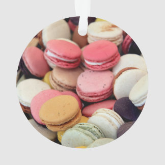Macarons in different colors ornament