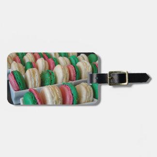 Macarons Luggage Tag