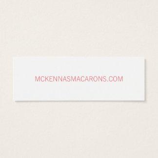 Macarons Mini Business Card