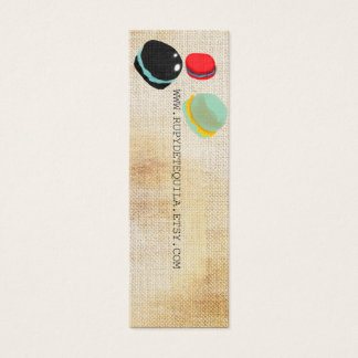 Macarons Paris Pastry Rupydetequila Mini Business Card