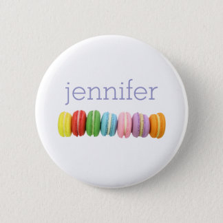 Macarons Personalized Button