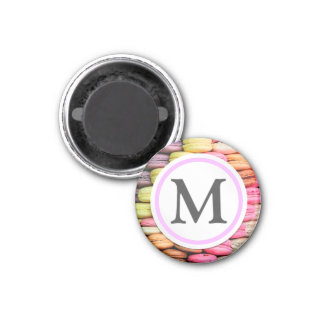 Macaroons 1 Inch Round Magnet