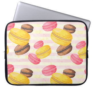 Macaroons Painting Laptop Sleeve