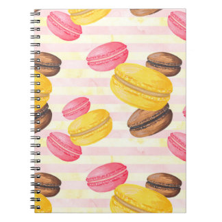 Macaroons Painting Notebooks
