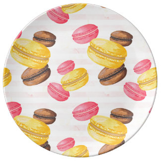 Macaroons Painting Plate