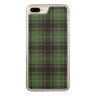 Macarthur clan Plaid Scottish tartan Carved iPhone 8 Plus/7 Plus Case